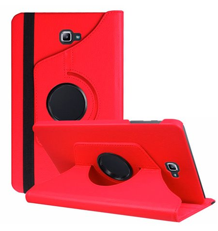 """Case Cover Samsung Galaxy Note 2014, 10.1"""", P6000, P6010, P6050 - Red"""