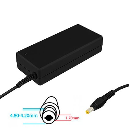 Laptop, notebook charger for  HP, Compaq: 19V - 4.74A - 4.8-4.2x1.7mm