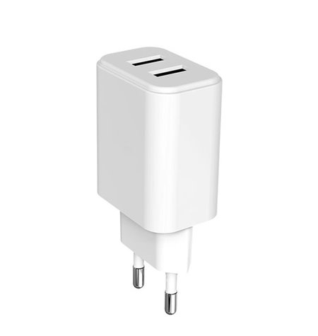 Phone and tablet charger: 2xUSB 2.1A