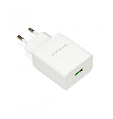 Phone and tablet charger: 1xUSB 3A Quick Charge