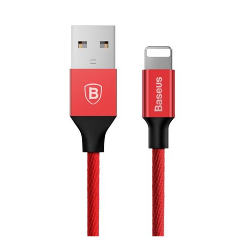 Baseus cable: 1.8m, Lightning, iPhone, iPad - USB: Yiven