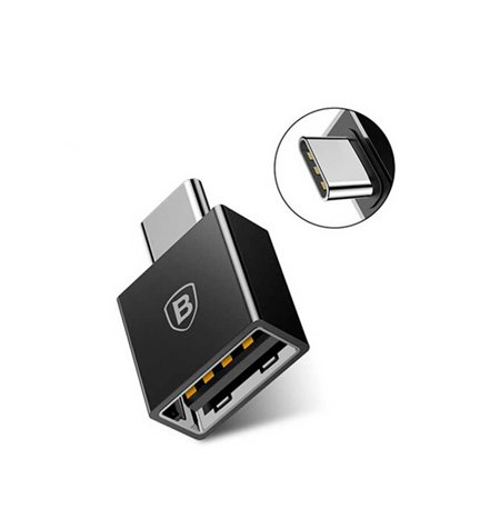 Baseus adapter: OTG, USB, female - USB-C, Type-C, male