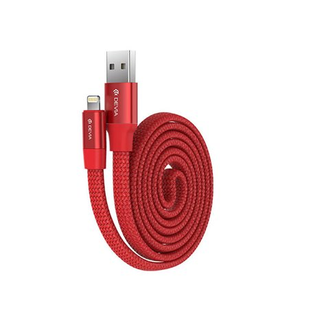 Devia cable: 0.8m, Lightning, iPhone, iPad - USB: Ring Y1