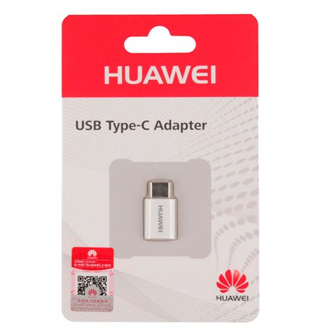Huawei adapter: OTG, Micro USB, female - USB-C, Type-C, male