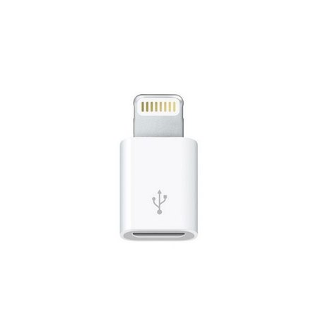 Apple adapter: Lightning, iPhone, iPad, male - Micro USB, female