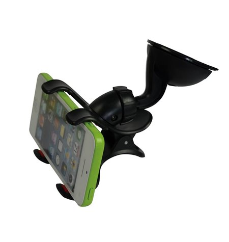 Car Window Mount Double Holder, up to 9.5cm devices, leg lenght 7cm