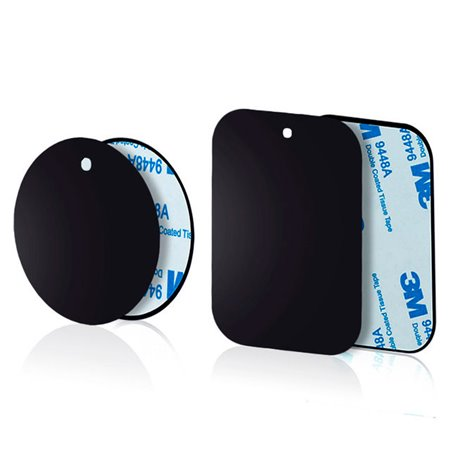 Iron plates, suitable for all magnet holders, 2 plates